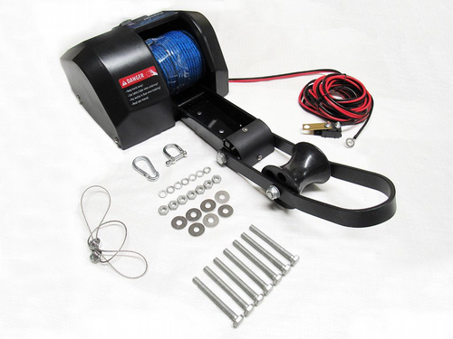 12V 30LB Electric Anchor Winch - 13KG Marine Boat Sailing Yacht Pull